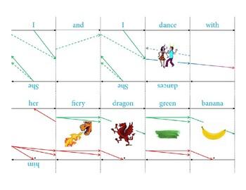 Grammar Arrows sentence cards