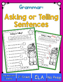 Grammar: Asking or Telling Sentences