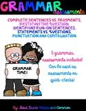 Grammar Assessments!