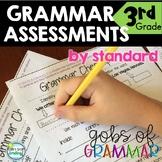 Grammar Assessments 3rd Grade