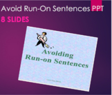 Grammar - Avoiding Run-On Sentences PPT