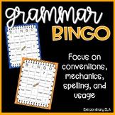 Grammar BINGO (Language Use, Mechanics, and Conventions)