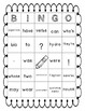 Grammar BINGO (Language Use, Mechanics, and Conventions)
