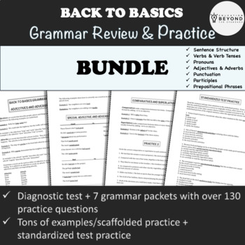 Grammar BUNDLE Covering Most Common Writing Errors