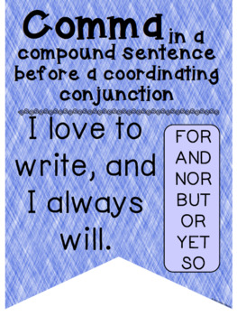Grammar Banners: Punctuation Posters