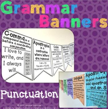 Grammar Banners: Punctuation