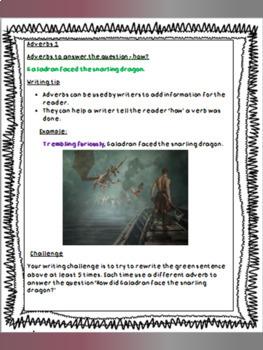Get Writing Paragraphs - Set 1 Adverbs