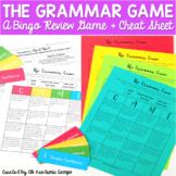 Types of Sentences Grammar Review Bingo Game