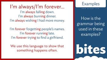 Grammar Bites: Level 2 - I'm Always Falling Over