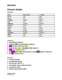 Grammar Blocks Complete - Answer Key