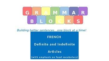 Grammar Blocks - French Articles