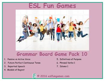 Grammar Board Games Pack 10 Game Bundle