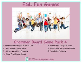 Grammar Board Games Pack 4 Game Bundle