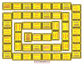 Grammar Board Games Pack 8 Game Bundle