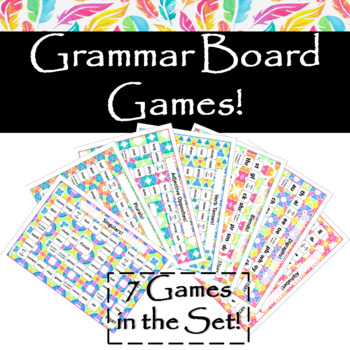 Grammar Board Games