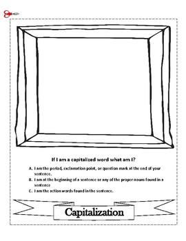 Grammar, Booklet, Quiz, File Folder-Review