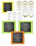 Grammar Bookmark Bundle for Nouns, Verbs, and Adjectives