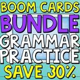 Grammar Boom Cards (Digital Task Cards) BUNDLE for Third Graders