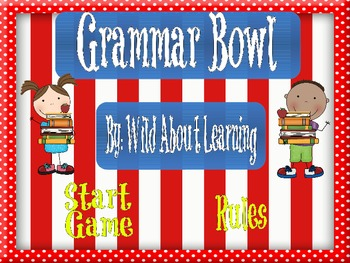Grammar Bowl Game