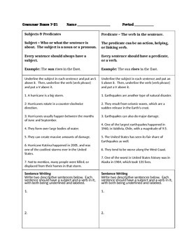 Grammar Boxes 7.21