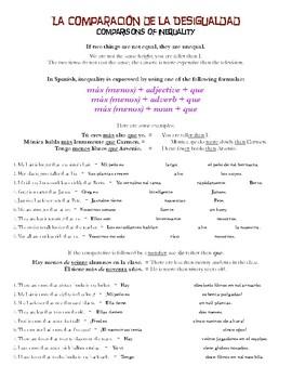Grammar Bundle #2 (Comparisons, Superlatives)