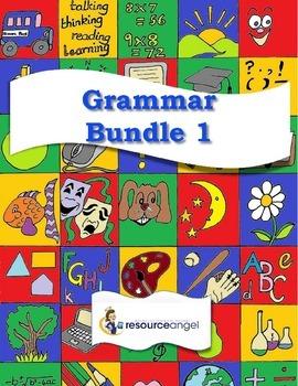 Grammar Bundle Printables: Grammar Bundle 1