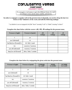 Grammar Bundle #3 (Present Tense, Stem-Changing Verbs, Gus