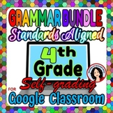 Grammar Bundle 4th Grade Digital Activities