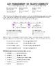Grammar Bundle #11 (Direct, Indirect, Double Object Pronouns)