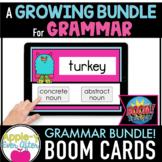 Grammar & Language Skills Bundle - Boom Task Cards - Dista