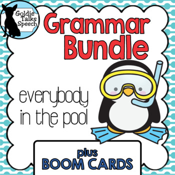 Grammar Bundle Games plus Boom Cards