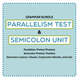 Punctuation/ Grammar Bundle: Parallel Structure Test and S