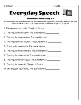 Grammar Bundle-Plural Rules
