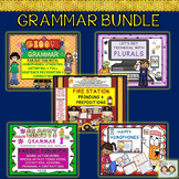 Grammar Bundle!! Plurals, Pronouns, Prepositions, Nouns, Verbs, and More!
