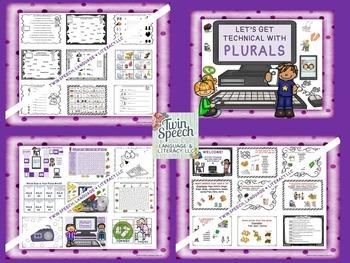 Grammar Bundle!! Plurals, Pronouns, Prepositions, Nouns, Verbs, and More!