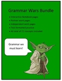 Grammar Bundle: Star Wars Theme STAAR and Common Core (21