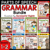 Parts of Speech Bundle! {Nouns, Verbs, Adjectives, Adverbs, and More}