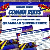 Grammar Busters Bell Ringers: Comma Rules