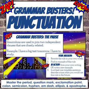 Grammar Busters: Punctuation Rules