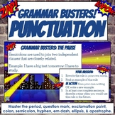 Grammar Busters Bell Ringers: Punctuation Rules
