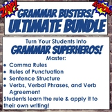Ultimate Bundle of Grammar Bell Ringers for PowerPoint or