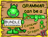 Grammar Can Be a Dragon: No-Print Interactive BUNDLE