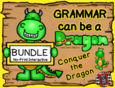 Grammar Can Be a Dragon: No-Print Interactive BUNDLE