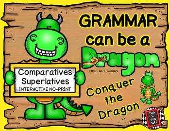 Grammar Can Be a Dragon: No-Print Interactive for Comparatives & Superlatives