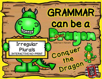 Grammar Can Be a Dragon: No-Print Interactive for Irregular Plurals