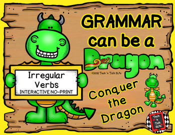 Grammar Can Be a Dragon: No-Print Interactive for Irregular Verbs