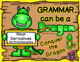 Grammar Can Be a Dragon: No-Print Interactive for Noun Derivatives