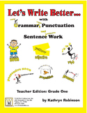 Daily Grade One Grammar, Capitalization, & Conventions