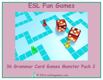 Grammar Card Games Monster Pack 2 Game Bundle
