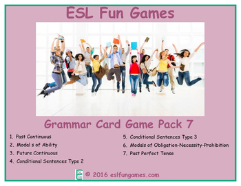 Grammar Card Games Pack 7 Game Bundle